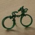 針金ミニグッズ(自転車)