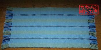 手織りテーブルセンター