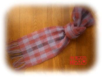 母への手織り